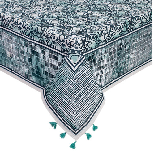 All the blues tablecloth 8 seater