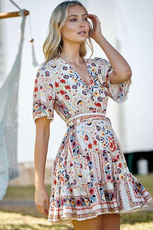 Tapestry short  dress