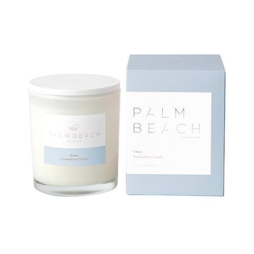 Palm beach linen candles