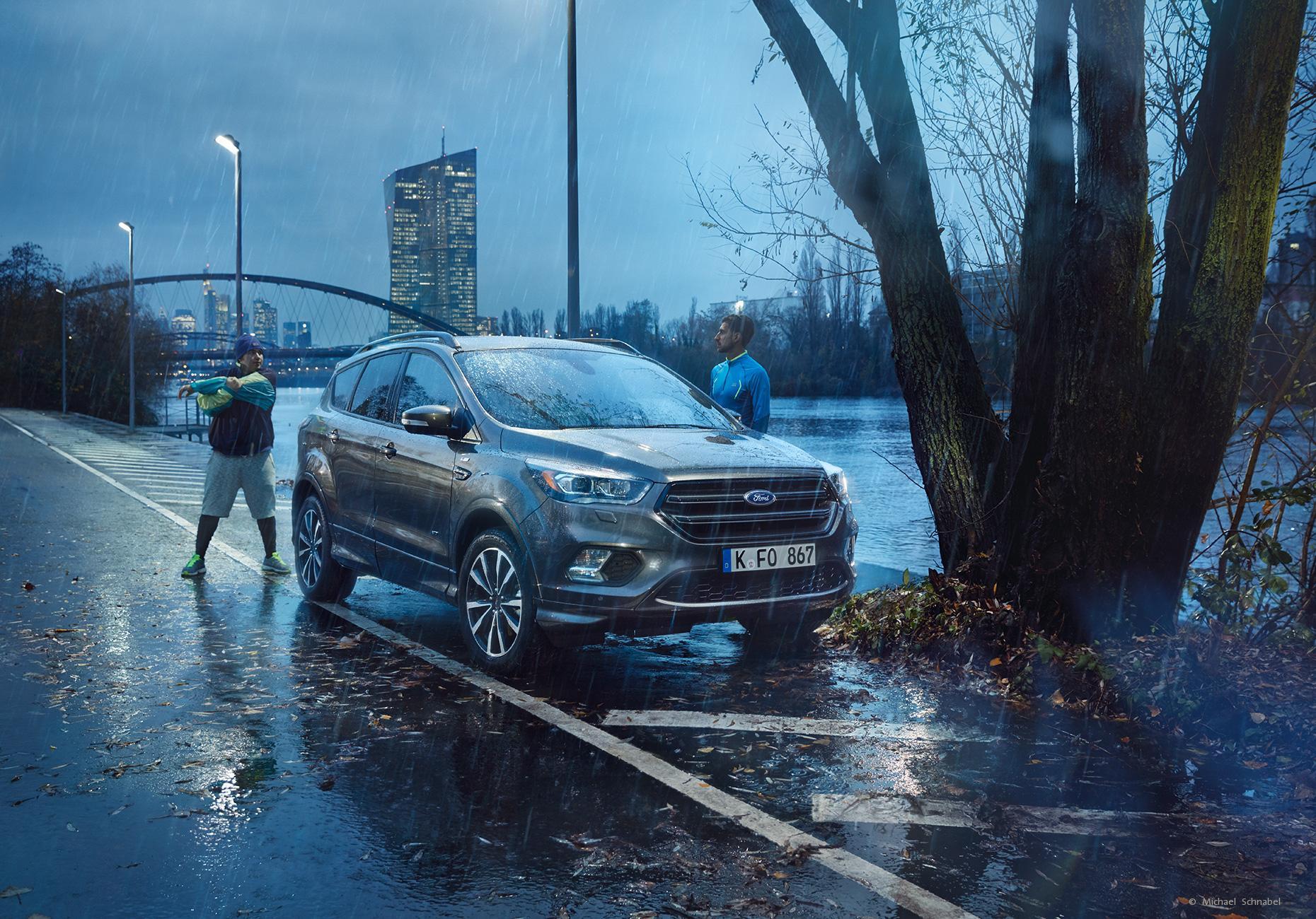 Ford Kuga Regen