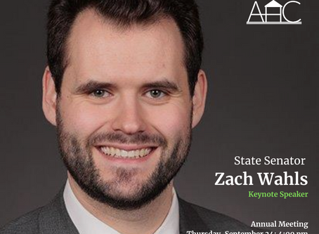Annual Meeting with Guest Speaker Zach Wahls