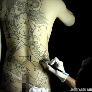 彫やす Horiyasu - 二十四孝狐火 Nijushiko Kitsunebi