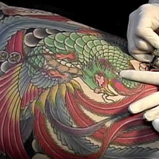 Horiyasu 彫やす- Chinese Phoenix Fenghuang 鳳凰