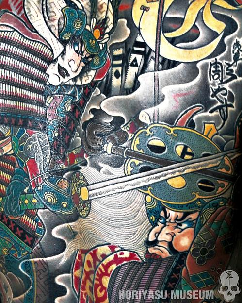 彫やす・川中島の戦い