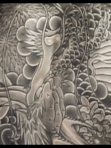 一匹龍・ブラックアンドグレー Ippiki Ryu - Black and Grey