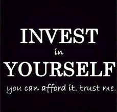 Invest in YOURSELF just a little each day
