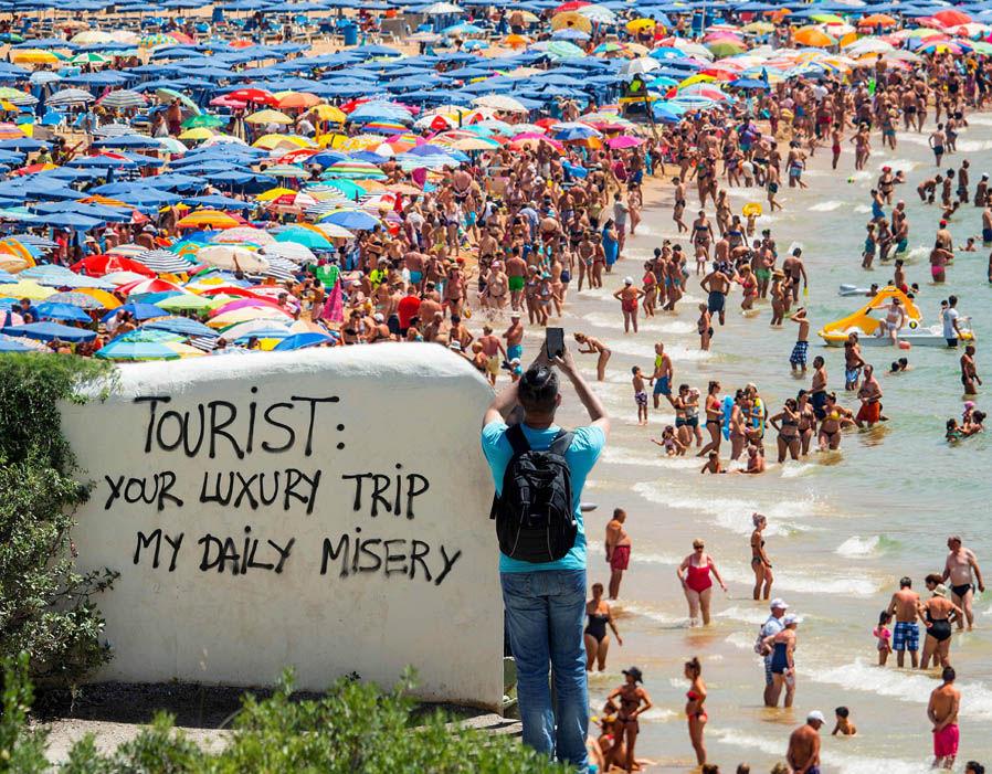Over tourism