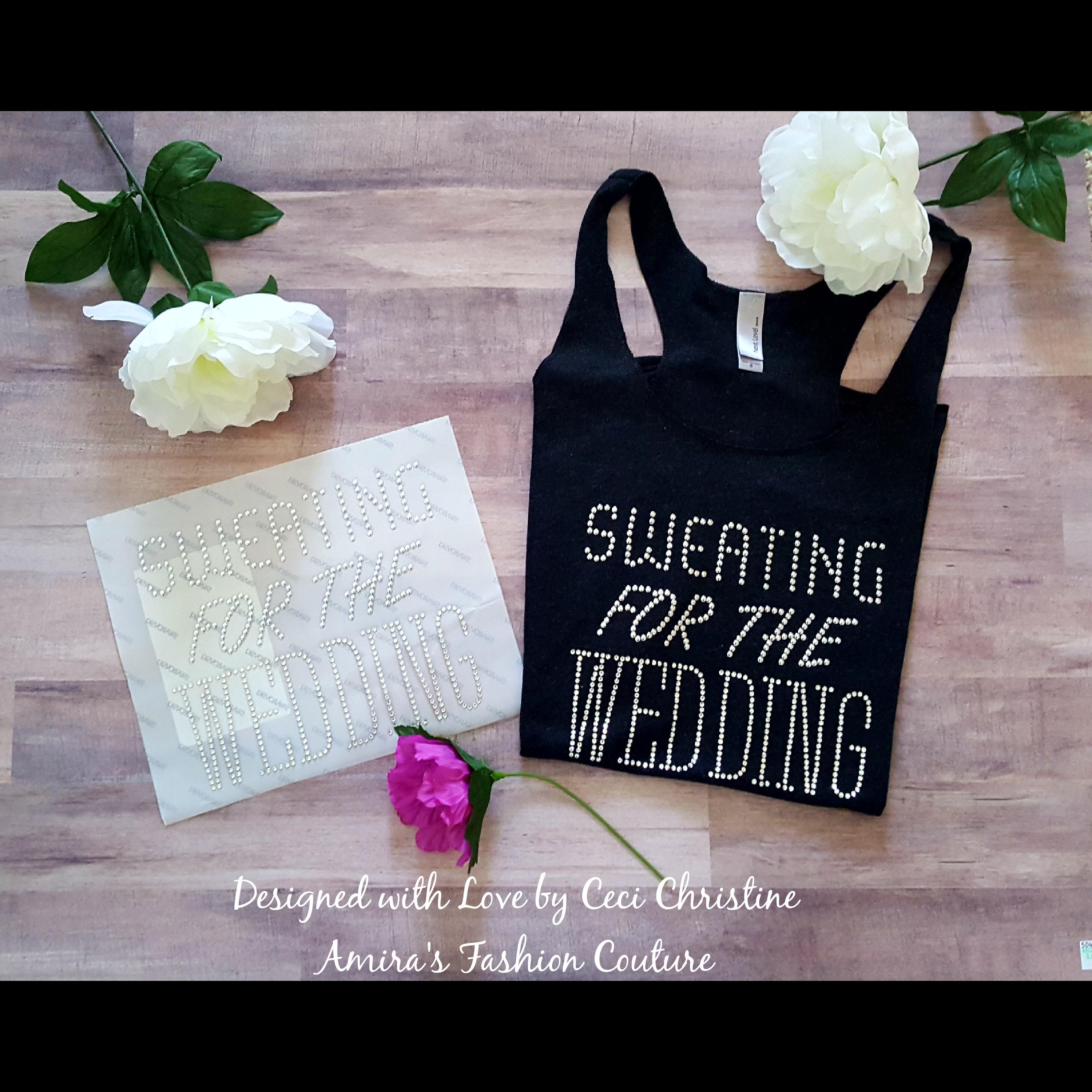 Sweating For the Wedding Swarovski