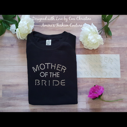 Mother Of the Bride Swarovski Motif