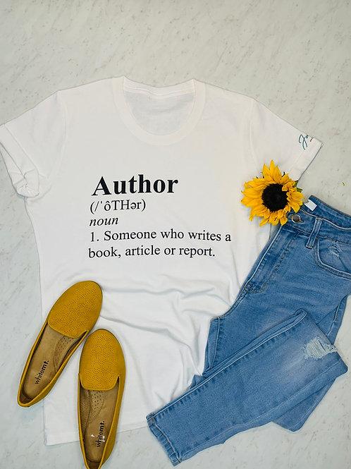 Author Tshirt