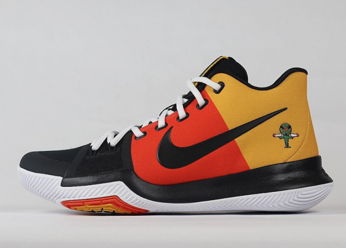 Kyrie Irving Nike Kyrie 3 Raygun PE