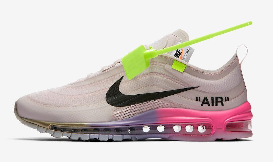 Serena Williams Off-White x Nike Air Max 97 Queen AJ4585-600 Release Date