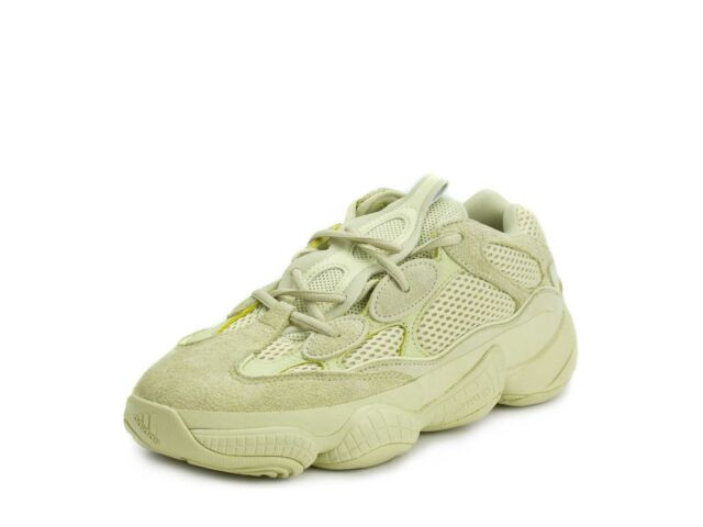 "Adidas Mens Yeezy 500 ""Super Moon"" Yellow DB2966"