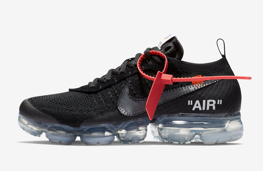 Off-White x Nike Air VaporMax Flyknit Black AA3831-002