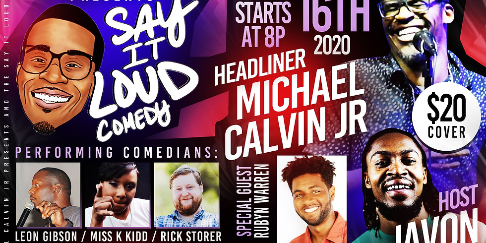 Say It Loud Comedy Show