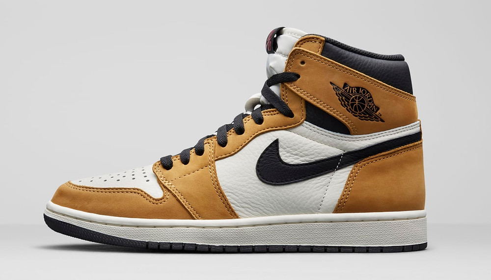 Air Jordan 1 'Rookie of the Year' 555088-700 (Lateral)