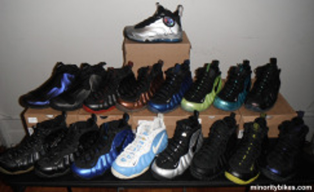 Nike Air Foamposite Collection