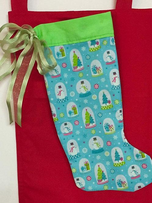 Patterned Hanging Stocking