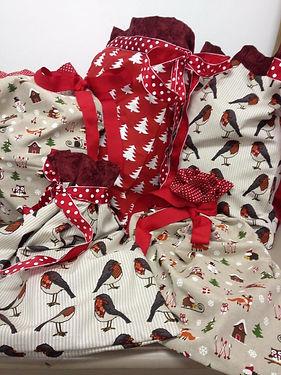 Christmas Gift Sacks, gift bags, santa sacks, can be personalised