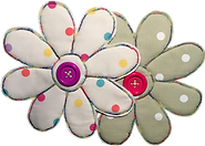 Dotty Daisies Witney Oxford double daisy logo