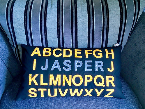 Alphabet Name Cushion