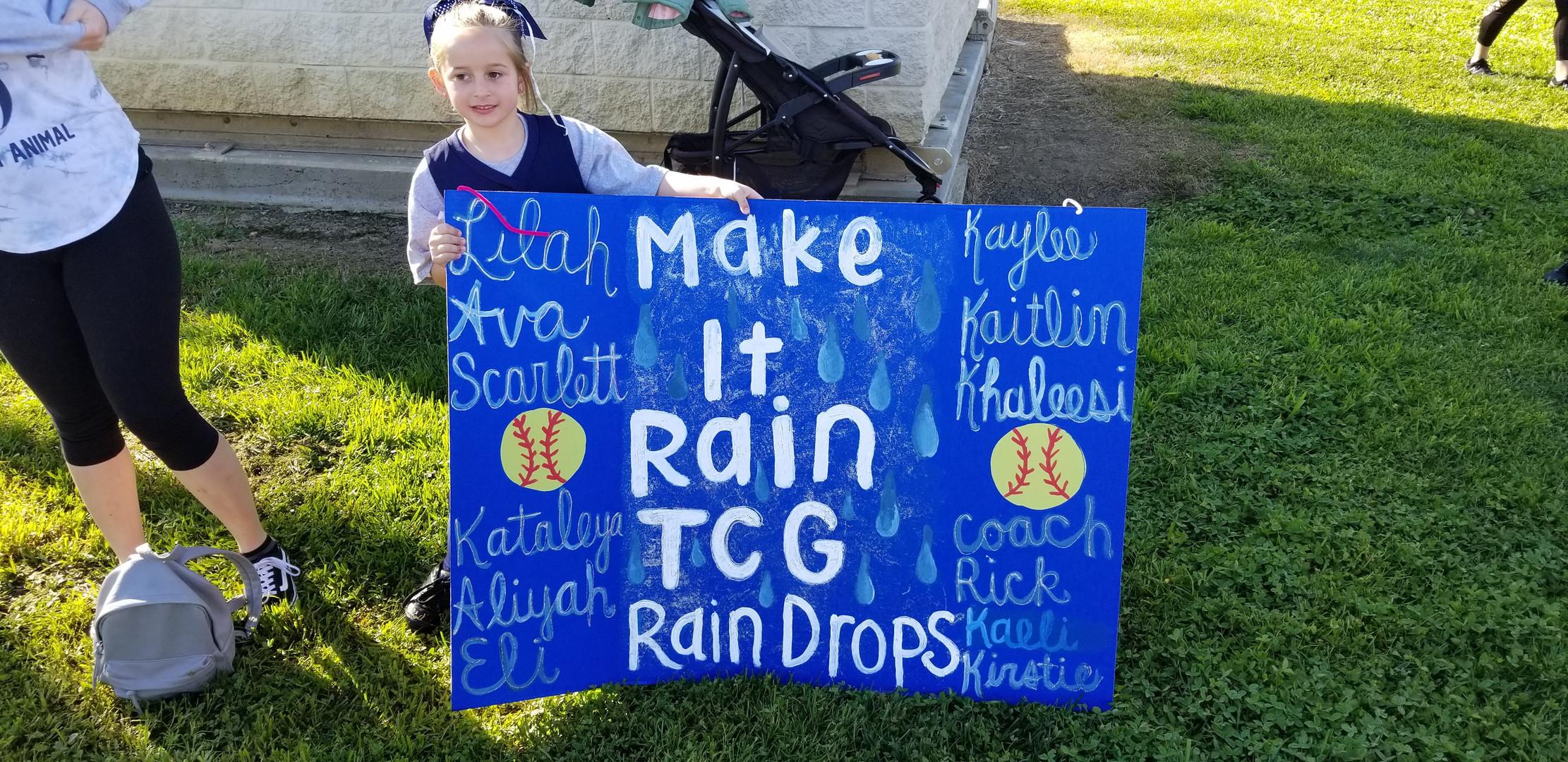 The Rain Drops, Tully Group's Softball Team