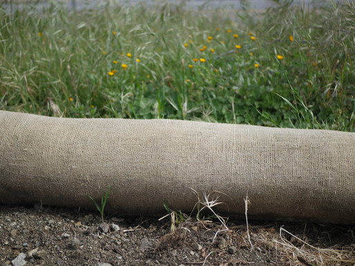 FREE Erosion Control - it's everywhere