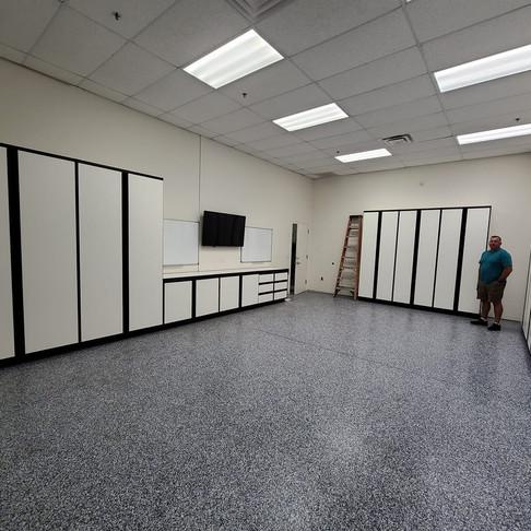We've got a new training room!
