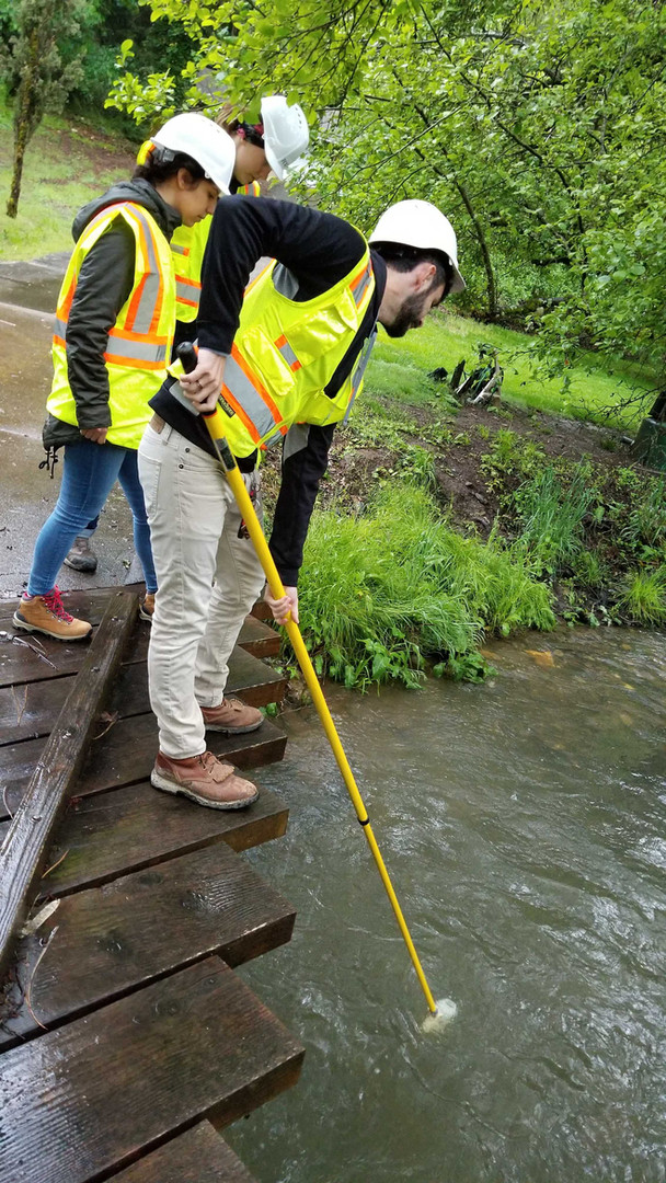 Collecting In-Water Work Samples during a Bridge Replacement