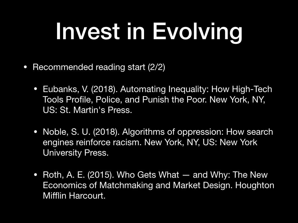 Invest in Evolving, 2