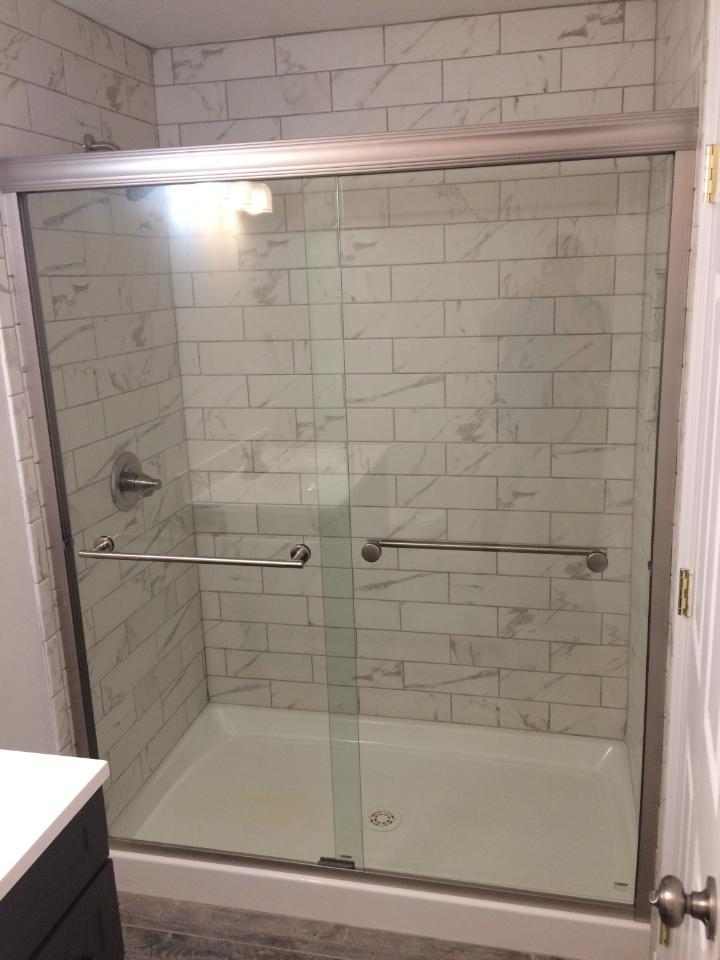 all new shower