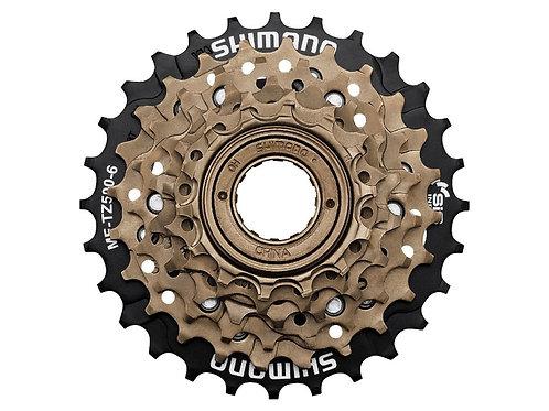 Shimano Tourney MF-TZ500 6-speed Multiple Freewheel 14-28