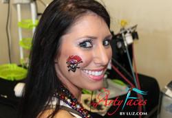 Pirate Glitter Tattoo