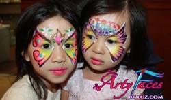 twin butterflies