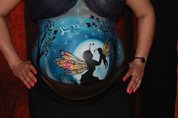 Fairy Belly Painting