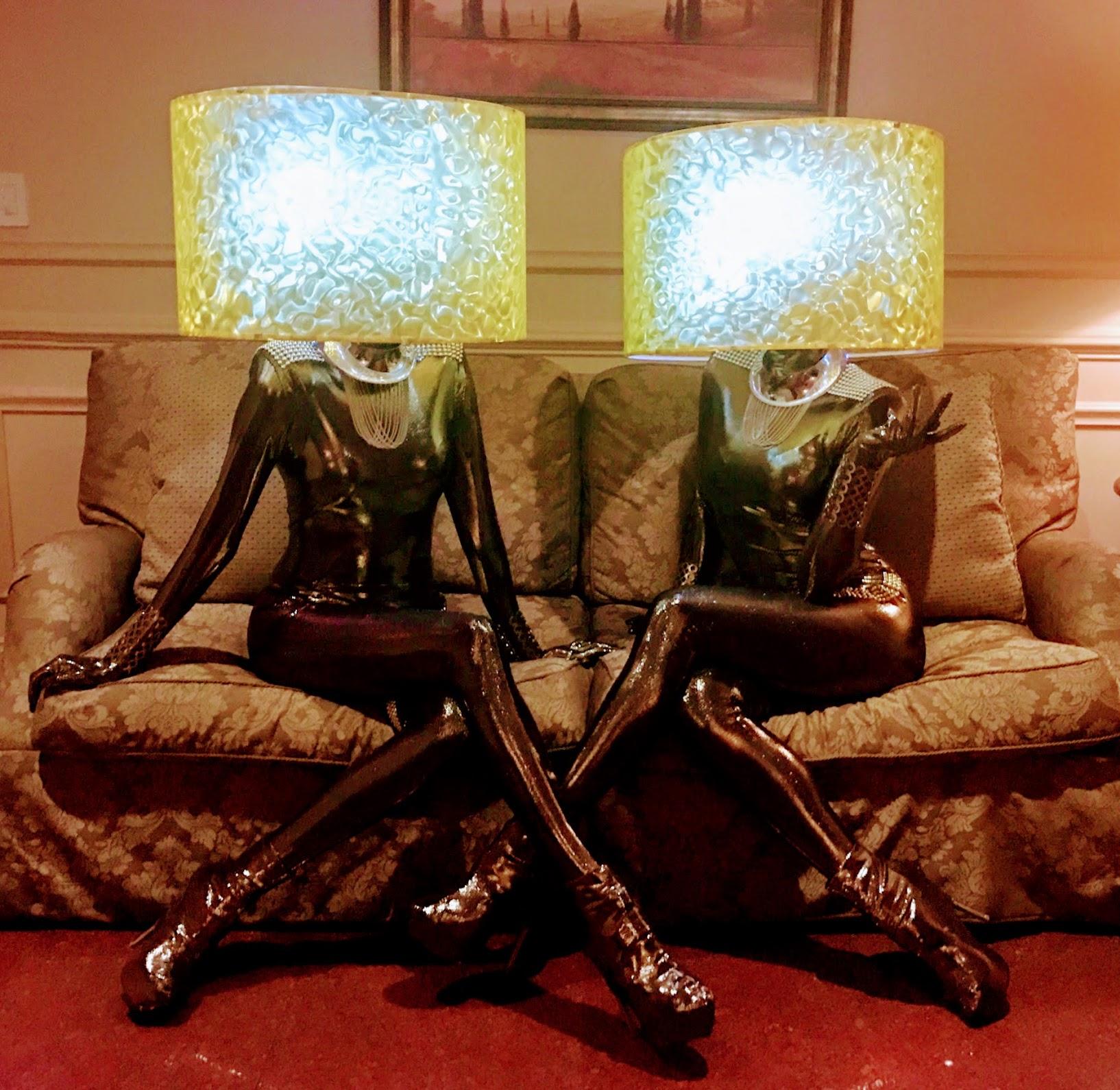Lamp shade Models lounge