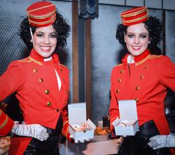 Ziegfeld Ballroom Usherettes