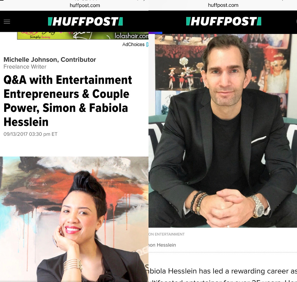 tryon entertainment, fabiola hesslein, nyc power couple, entrepreneurs