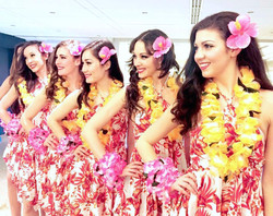Hawaiin Theme Models