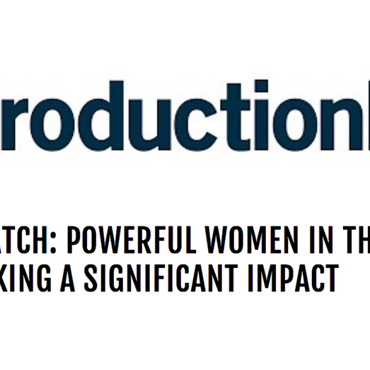 Fabiola Hesslein: A Powerful Woman in the Production Industry. Thank you Production Hub!