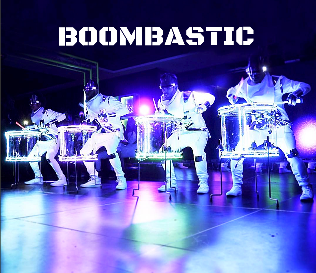 Boombastic LED Drum Show