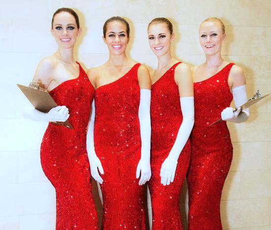 Holiday Model Staff