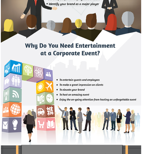 How To Hire the Best Corporate Entertainment for Any Corporate Event