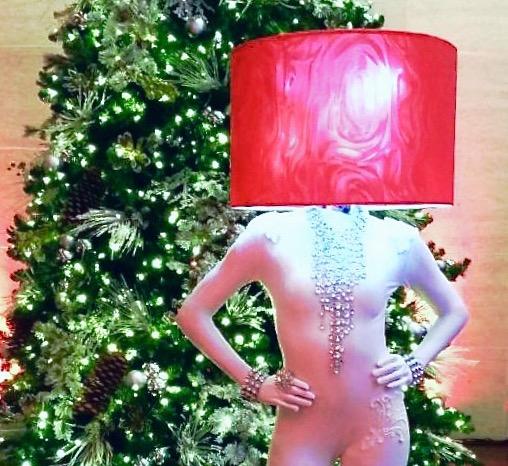 Christmas Lamp Shade model
