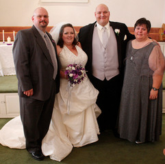 Family Portrait after a wedding