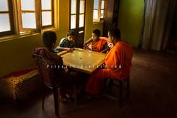 Playful Monks