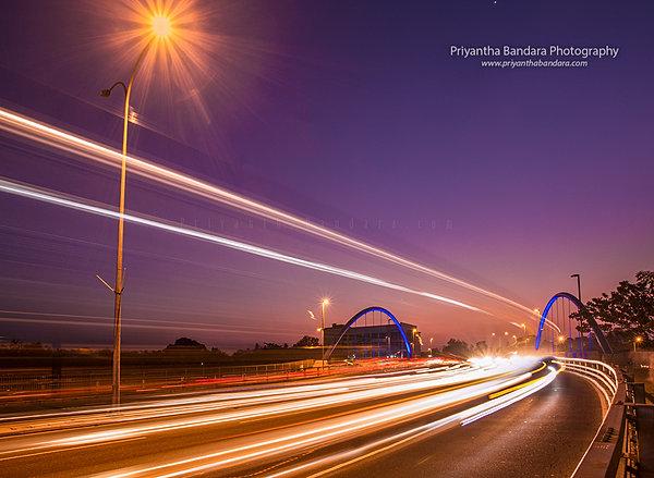 long exposure city lights priyantha bandara photography city lights of battaramulla