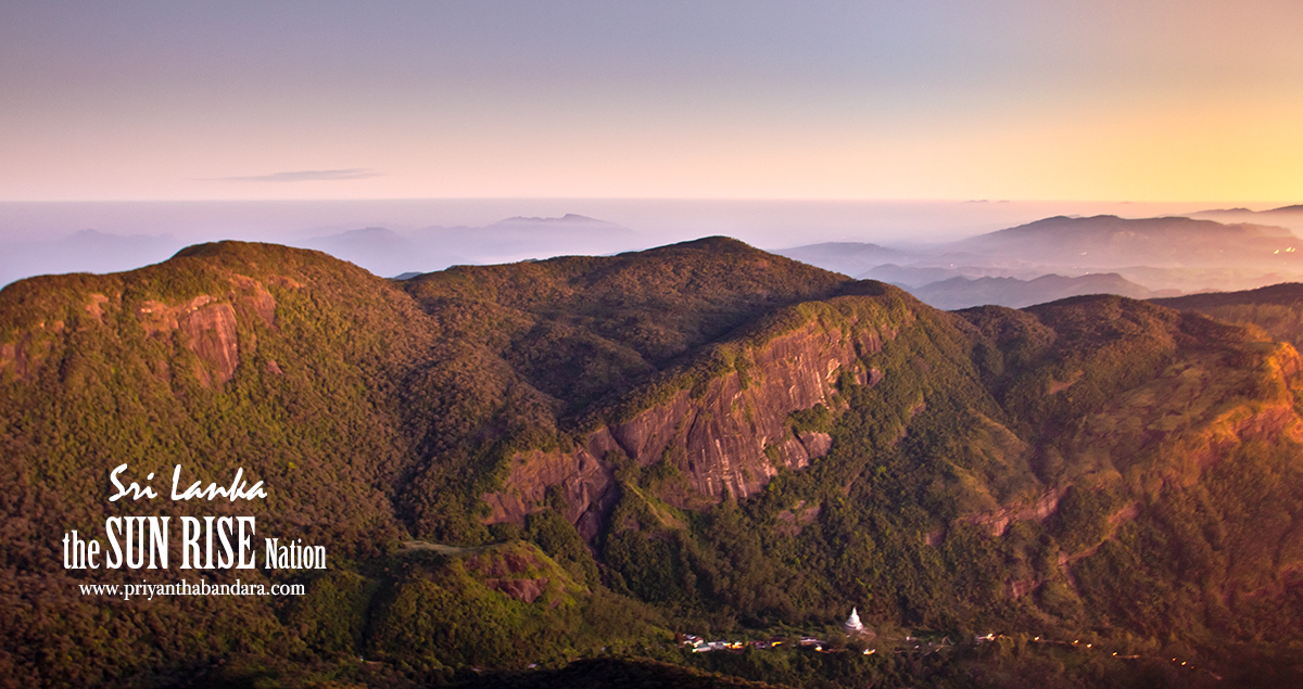Breaking Dawn from Adams Peak