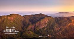 Breaking Dawn from Adams Peak