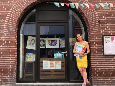 Friedensausstellung von Heilkunst Sarah Maria Kugler Sommer 2020
